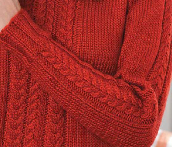 ePattern Cable Sweater