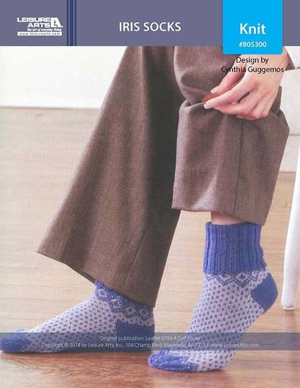 ePattern Iris Socks