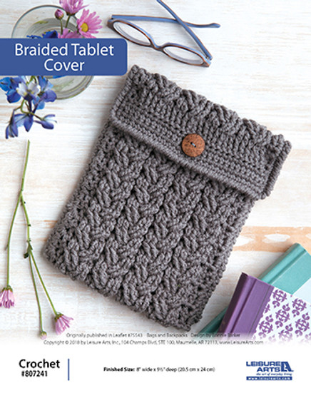ePattern Braided Tablet Cover