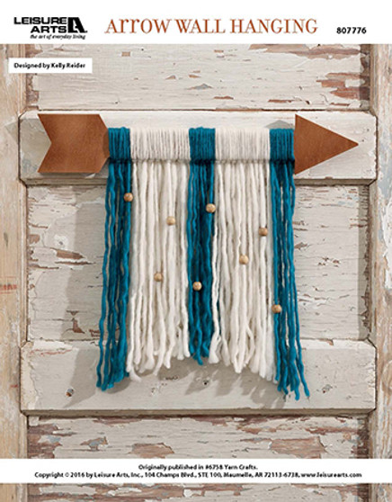 LetLet us point you in the direction of your next craft that will present an opportunity for creativity with some simple yarn! Designed by Kelly Reider.