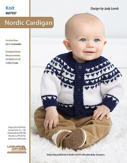 ePattern Nordic Cardigan