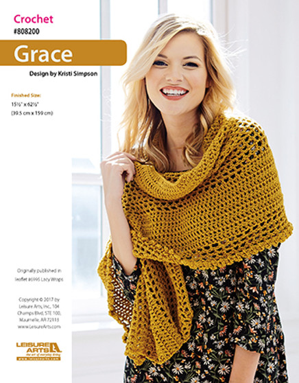 Walk into any room in a graceful and stylish manner with this crochet Grace ePattern.