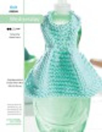 so enjoy making a dishcloth dress! Designed by Debbie Trainor.