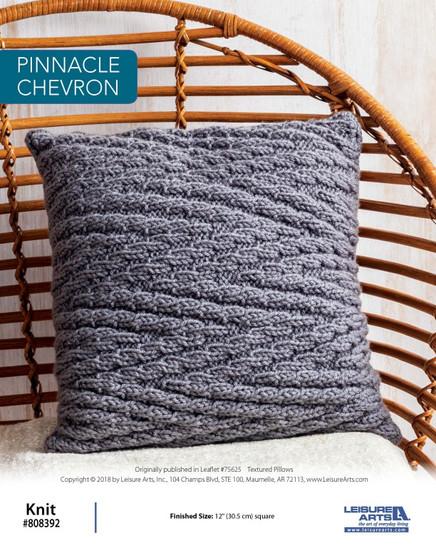 Knit beautiful ePattern project with Pinnacle Chevron!