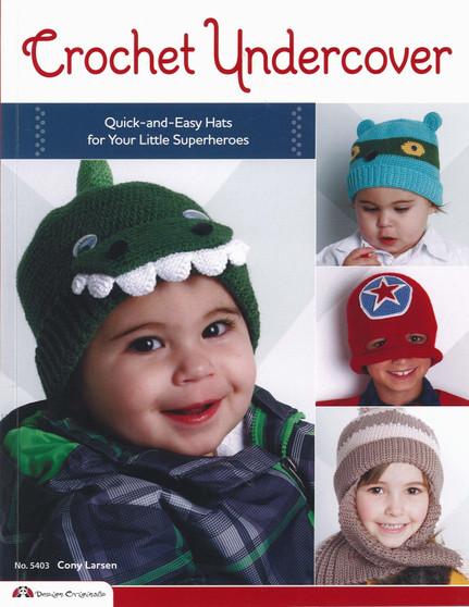 Design Originals Crochet Undercover Book