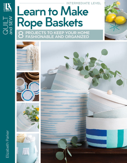 eBook Learn to Make Rope Baskets