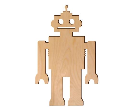 Leisure Arts Wood Shape Flat Robot