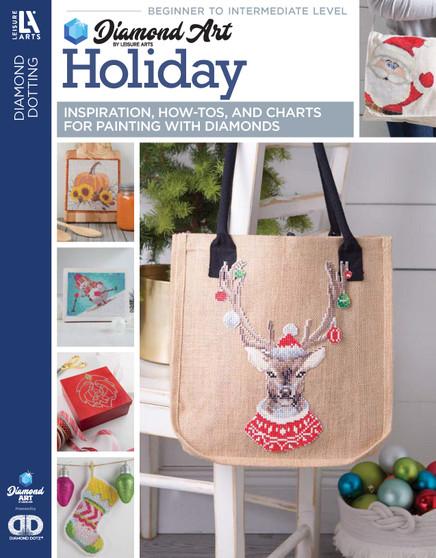 eBook Diamond Art By Leisure Arts Freestyle Diamond Dotting Holiday Painting Charts & Idea
