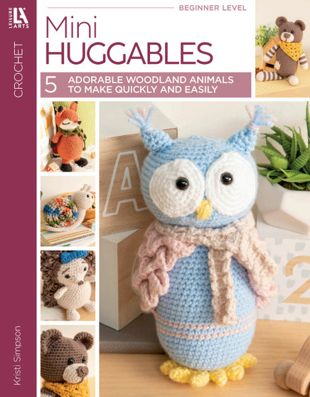 eBook Mini Huggables - 5 Adorable Woodland Animals to Make Quickly and Easily