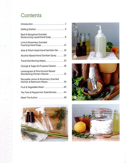 Leisure Arts Handmade Soaps, Sanitizers & Cleaners Book