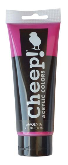 Cheep! Acrylic Paint 4oz Tube Magenta