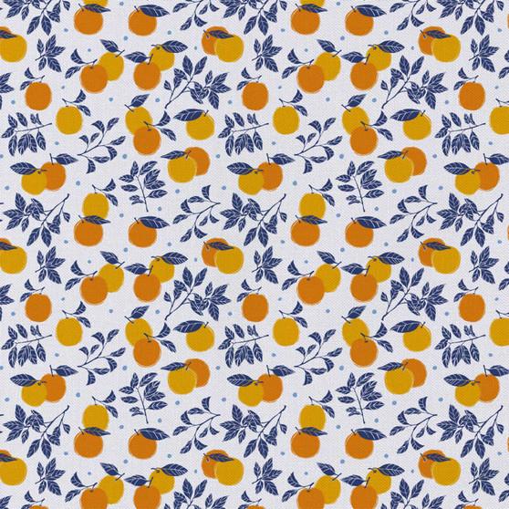 Emma & Mila Oranges 8 yard Cotton fabric by the bolt