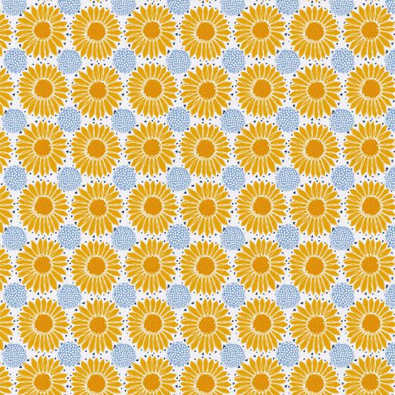 Emma & Mila Sunflowers 8 yard Cotton fabric by the bolt