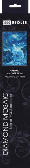 """Riolis Diamond Mosaic Kit 10.75""""x 15"""" Ice"""
