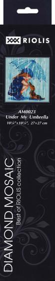 "Riolis Diamond Mosaic Kit 10.75""x 10.75"" Under My Umbrella"