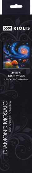 "Riolis Diamond Mosaic Kit 15.75""x 15.75"" Other Worlds"