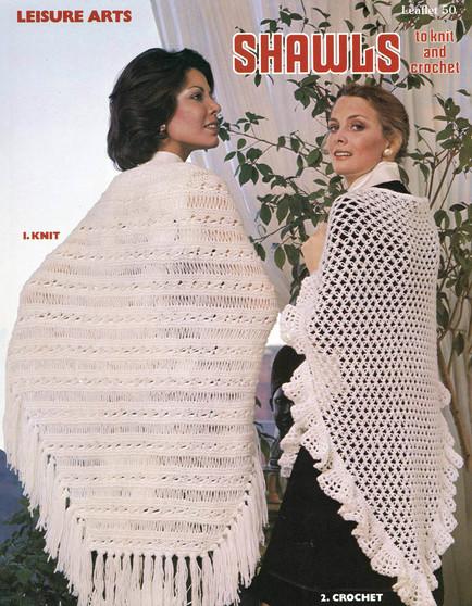 Leisure Arts Shawls to Knit and Crochet - Digital Pattern