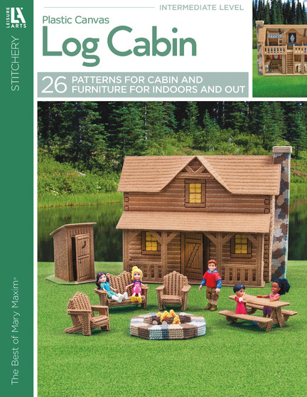 eBook Leisure Arts The Best Of Mary Maxim Log Cabin