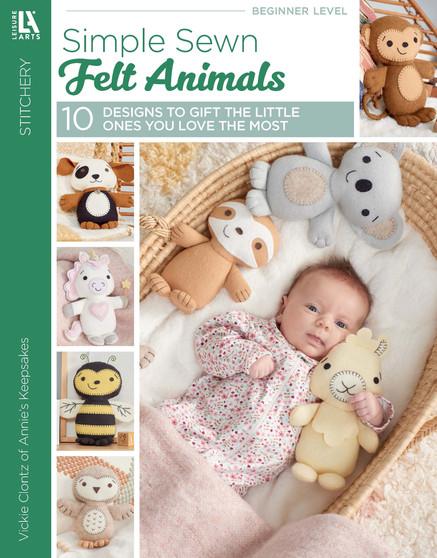 eBook Leisure Arts  Simple Sewn Felt Animals