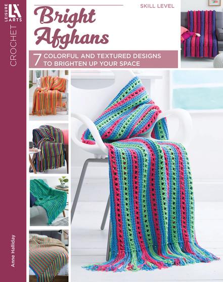 eBook Leisure Arts Bright Afghans