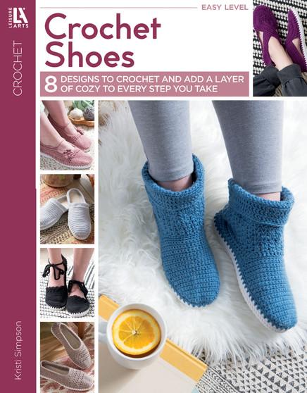 Leisure Arts Crochet Shoes Book