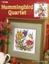 Leisure Arts Hummingbird Quartet Cross Stitch Book