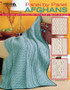 Leisure Arts Panel By Panel Afghans Crochet Book