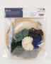 """Leisure Arts Kit Make In A Weekend Punch Needle 8"""" Mountains"""
