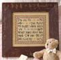 Leisure Arts Words To Stitch By Cross Stitch Book
