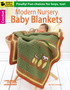 Leisure Arts Modern Nursery Baby Blankets Crochet Book