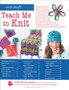 Leisure Arts Teach Me To Knit Book