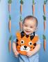 Leisure Arts Animal Baby Bibs Crochet Book
