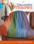Leisure Arts Decorator Throws Book
