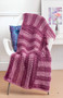 Leisure Arts Easy Q-Hook Afghans Crochet Book