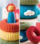 Leisure Arts Baby Stacks Crochet Book