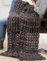 Leisure Arts Make in a Weekend Textured Lap Throws Crochet Book