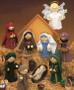 ePattern Knit Nativity Scene