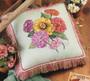 ePattern Paula Vaughan's Zinnia Pillow