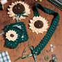 ePattern Sunflower Sewing Set to Crochet