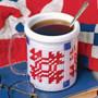ePattern American Mug in Plastic Canvas