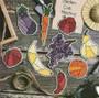 ePattern Patchwork Fruit & Veggies Magnets