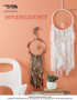 Craft and catch your favorite dreams with this creative dreamcatcher made of yarn. Designed by Kelly Reider.