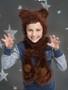 ePattern Bear Crochet Hat