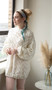 ePattern Lacy Pull Over