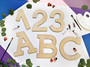 """Essentials By Leisure Arts Wood Letter 9.5"""" Birch A"""