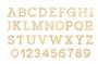 """Essentials By Leisure Arts Wood Letter 9.5"""" Birch No 5"""