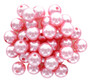 Essentials By Leisure Arts Bead Pearls Plastic 12mm Pink 200pc