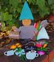 Leisure Arts Wood Gnome Kit Basics Girl