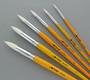 Cheep Brush White Nylon Long Handle Round #11