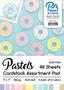 "Paper Accents Cardstock Pad 5""x 7"" Pastels Assortment 48pc"